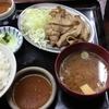 金沢片町の豚バラ炒め定食を食べた話。