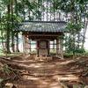巾着田を見下ろす丘の 『九万八千神社』