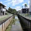 地図子、石神井川を歩く -2/3 武蔵関公園から正久保通りまで-