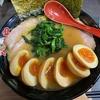 「ガンヤ」のラーメンとチャーシューと味玉と味玉と味玉と小ライス@相模大野