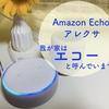 Amazon Echo「アレクサ」。よく使う機能はこれ!呼び方を変えてさらに快適!