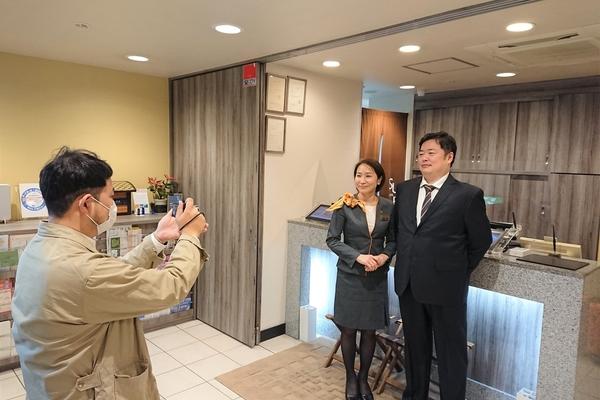 店舗ヒストリー~新大阪に行ってきました♪~|スーパーホテルの歴史をつなぐ取り組み