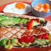 朝食に食べたい!サラミとアボカドのホットサンドレシピ