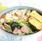 【糖質約47.8g】倉敷意匠の琺瑯で「小松菜とベーコンのアンチョビ炒め弁当」