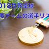 2018世界卓球団体戦の主要チームのエントリー選手まとめてみた