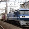 白桃9号機充当5052レ、米タンなど 貨物列車撮影 11/3