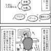 【漫画】自分の話、育児と在宅ワーク