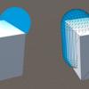 ソフトパーティクルの仕組みを応用した表現