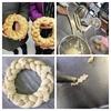 パンで作るクリスマスリース ~Part2~