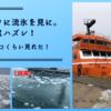 【北海道旅行】オホーツクに流氷を見に。今年はハズレ! でも200コくらい見れた!