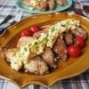 【レシピ】フライパンで簡単!ササミから揚げ♬〜タルタルのせ〜
