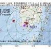 2017年09月02日 11時16分 鹿児島県薩摩地方でM3.1の地震