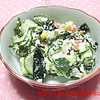 食物繊維たっぷりおからサラダ:糖尿病患者の食卓