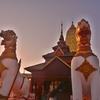 「サンクラブリー」モーン族の寺院「チェディー・ブッタガヤー」と「ワット・ワン・ウィウェーッカーラーム」