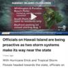 ハワイのハリケーンシーズン