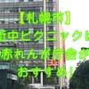 【札幌市】街中ピクニックは赤れんが庁舎で決まり!その後は赤れんがテラスで休憩しよう!