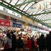2017 X'mas Seoul 広蔵市場で激うまマンドゥお昼ご飯
