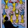 タロットカード カップ7(杯7) の意味