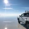 ウユニ塩湖のツアーに参加!