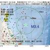 2017年09月11日 16時13分 青森県東方沖でM3.4の地震