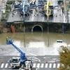 博多陥没、地下水の流入原因か…復旧見通せず