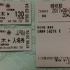 No.87 JR東日本・小田急電鉄 厚木駅 乗車券・入場券