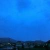 今朝は大雨