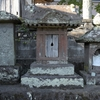 真玉寺の境内にまつられる庚申塔② 大分県豊後高田市西真玉