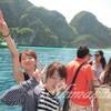 大型船で行く1日ピピ島観光ツアー