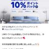 LINEトラベルjpで10%ポイントバックキャンペーン実施中!LINEポイントを宿泊で貯めよう