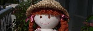 60代 ゆるゆるな日常 お人形のニーナちゃんとベランダでひなたぼっこ