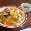 【江差町】喫茶・レストラン ラ・カルプ|ホテルのレストランであんかけ焼きそばを堪能!
