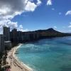 ハワイの海、、美しい。また行きたい!