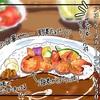 【カフェ飯】エビの存在感!海老出汁のカレーが絶品だった「チェリッシュ珈琲@仙台青葉通り駅前」