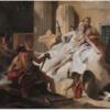 ティエポロ 「ヴィーナスとヴァルカン」 人間を増産させながらの食事会