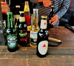 ★屋台のビールの品揃え