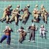 UCHG 1/35 地球連邦軍 対MS特技兵セット (機動戦士ガンダム 第08MS小隊) 製作記 PART3