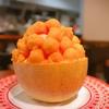 殿堂入りのお皿たち その265【下北果実さん の メロンかき氷】
