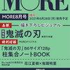 MORE 8月号増刊<鬼滅の刃 表紙版>は売り切れ?在庫あり?