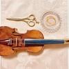 ダンボールヴァイオリン、弦の張り替え