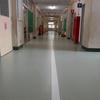 1年生教室前廊下修繕終了