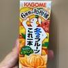 カゴメ 冬のフルーツこれ一本 6種類の和蜜柑 飲んでみた。