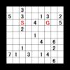 歩数指定迷路:問題23