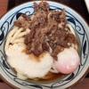 宝達山登山後に「丸亀製麺」