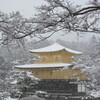 雪の金閣寺へ観光…過去20170115