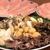 肴の天然きのこ料理【秋限定!究極のすき焼きコース】