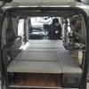 車の後部スペースへ自作の荷台を設置する!