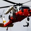 自衛隊の救難ヘリ