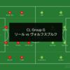【前進と起点と守備】UEFA CL Group G リール vs ヴォルフスブルク
