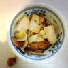 鱈と白菜の和風、さつまいも天、茄子豚肉、玉子焼き